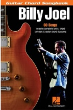 Billy Joel - Guitar Chord Songbook 6 X 9 - Guitar