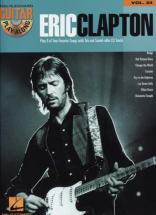 Clapton Eric - Guitar Play Along Vol.24 + Cd - Guitar Tab