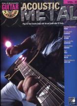 Guitar Play Along Vol.37 - Acoustic Metal + Cd - Guitar Tab