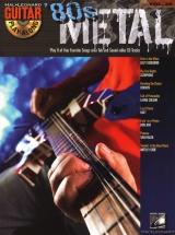 Guitar Play Along Volume 39 - 80s Metal + Cd - Guitar Tab
