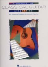 Treasury Of Classical Guitar Repertoire - Guitar Tab