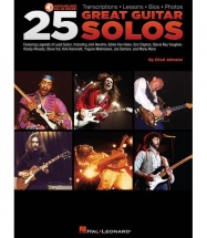 25 GREAT GUITAR SOLOS + MP3 - GUITARE TAB