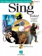 Sing Today! Level One + Cd - Voice