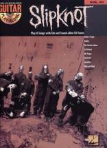 Slipknot - Guitar Play Along Vol.61 + Cd - Guitar Tab