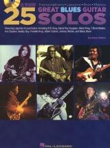 25 Great Blues Guitar Solos With Tab Guitar + Cd - Guitar Tab