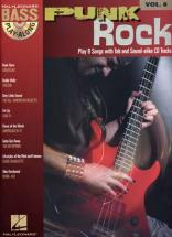 Bass Play Along Vol.8 - Punk Rock + Cd - Bass Tab