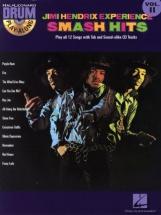 Hendrix Jimi - Drum Play Along Vol.11 - Smash Hits + Cd