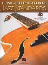 Fingerpicking Jazz Standards Jazz Guitar Chord Melody Solos - Guitar Tab