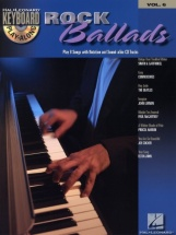 Keyboard Play Along Vol.6 - Rock Ballads + Cd