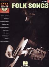 Easy Rhythm Guitar Vol.10 Folk Songs + Cd