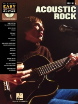 Easy Rhythm Guitar Volume 4 Acoustic Rock + Cd - Guitar