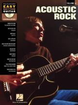 Easy Rhythm Guitar Volume 4 Acoustic Rock + Cd - Guitar