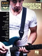 Easy Rhythm Guitar Volume 9 Modern Rock + Cd - Guitar Tab