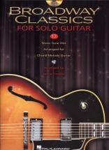 Broadway Classics For Solo Guitar Tab + Cd