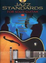 Jazz Standards For Solo Guitar + Cd - Guitare