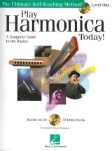 Play Harmonica Today Self Teaching Method Level 1 + Cd - Harmonica