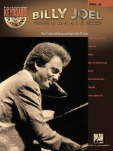 Keyboard Play Along Volume 8 Billy Joel Classics + Cd - Pvg