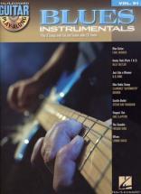 Guitar Play Along Vol.091 Blues Instrumentals + Cd