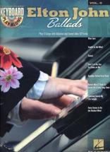 Keyboard Play Along Vol.9 Elton John Ballads + Cd - Piano, Chant
