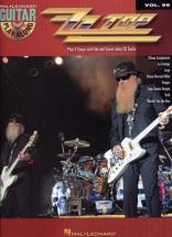 Zz Top - Guitar Play Along Vol.99 + Cd - Guitare