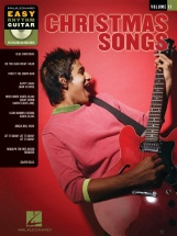 Christmas Songs Easy Rhythm Guitar + Cd - Guitar Tab