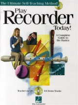 Play Recorder Today! A Complete Guide To The Basics + Cd - Recorder