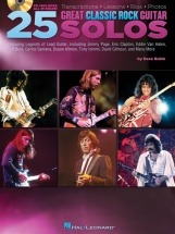 25 Great Classic Rock Guitar Solos Transcriptions + Cd - Guitar