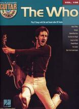 The Who - Guitar Play Along Vol.108 + Cd - Guitare Tab