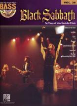 Black Sabbath - Play Along Vol.26 + Cd - Bass Tab