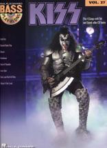 Kiss - Bass Play Along Vol.27 + Cd - Basse Tab