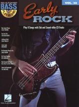 Bass Play Along Volume 30 Early Rock B+ Cd - Guitar Tab