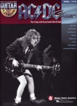 Ac/dc - Guitar Play Along Vol.119 + Cd - Ac/dc Classics - Guitare Tab