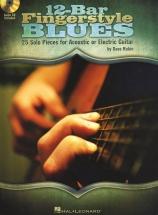 Rubin Dave 12-bar Fingerstyle Blues + Cd - Guitar Tab