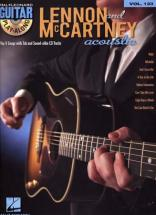 Lennon & Mccartney - Guitar Play Along Vol.123 + Cd - Guitare Tab