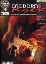 Boss Eband Guitar Play Along Vol.5 - Modern Rock + Usb - Guitar Tab
