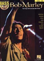 Marley Bob - Bass Play Along Vol.35 + Cd - Bass Tab