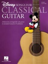 Disney Songs - Classical Guitar - Solfege Et Tablatures