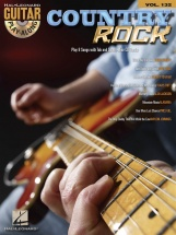 Guitar Play Along Volume 132 - Country Rock + Cd - Guitar Tab