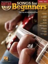 Guitar Play-along Volume 101 - Songs For Beginners - Guitar