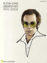 Elton John Greatest Hits 1970-2002 - Guitar