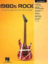 1980s Rock - Easy Guitar Tab