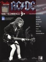 Guitar Play Along Fender G-dec Ac/dc Bk/sd Card - Guitar