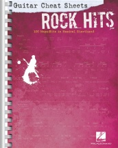 Guitar Cheat Sheets - Rock Hits - Guitar Tab