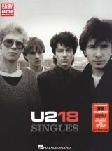 U2 18 Singles Easy Guitar - Guitar Tab