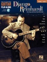 HAL LEONARD GUITAR PLAY ALONG VOLUME 144 REINHARDT DJANGO + MP3
