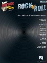 Easy Guitar Play-along Volume 4 Rock N Roll + Cd - Guitar Tab