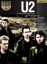 Bass Play Along Volume 41 U2 + Cd - Bass Guitar