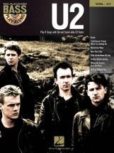 Bass Play Along Volume 41 U2 + Cd - Bass Guitar