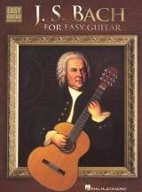 Bach J.s. For Easy Guitar - Guitar