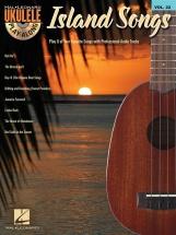 Ukulele Play Along Volume 22 Island Songs + Cd - Ukulele
